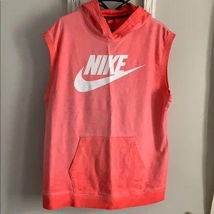 NWT Nike Sleeveless Hoodie